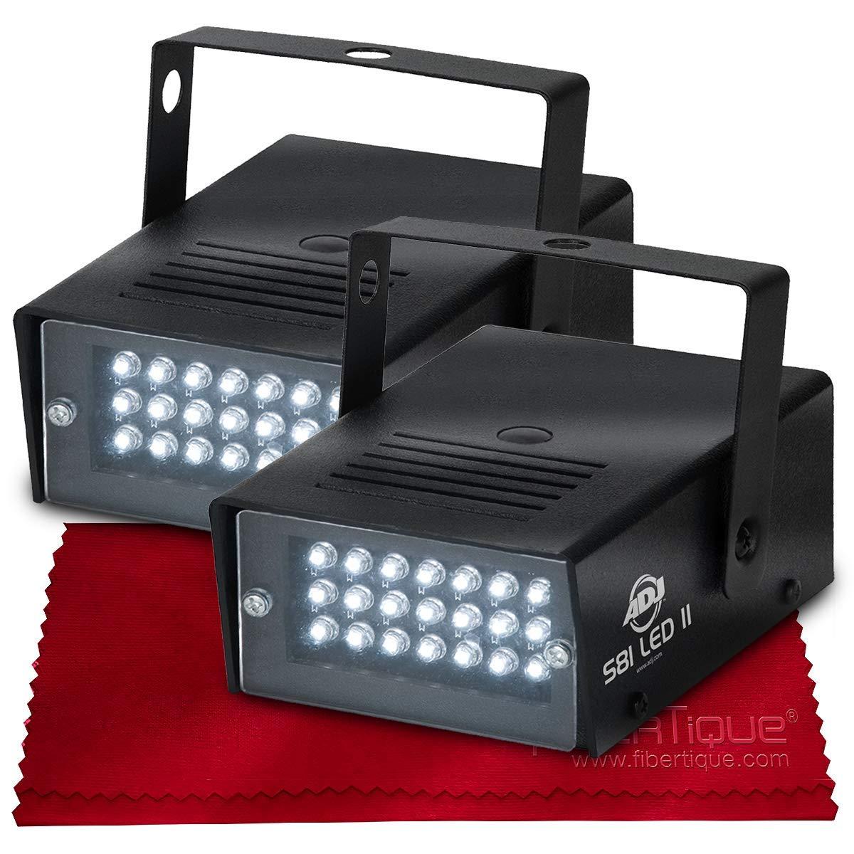 American Dj S81 Variable Speed Led Powered Led Mini Strobe Effect Set by Photo Savings