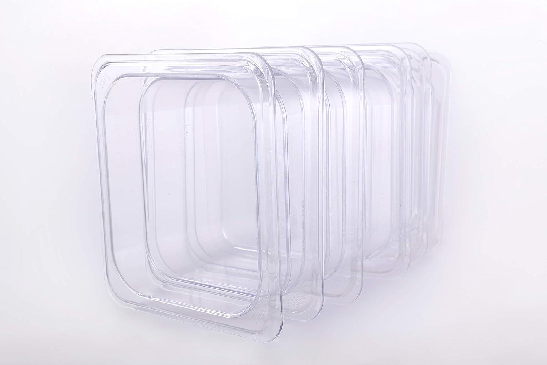 CMI 1/6 Size Polycarbonate Food Pans,6