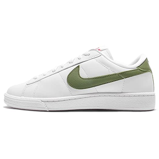 Nike Women's Wmns Tennis Classic, WHITE/PALM GREEN-BLACK-WHITE, ...