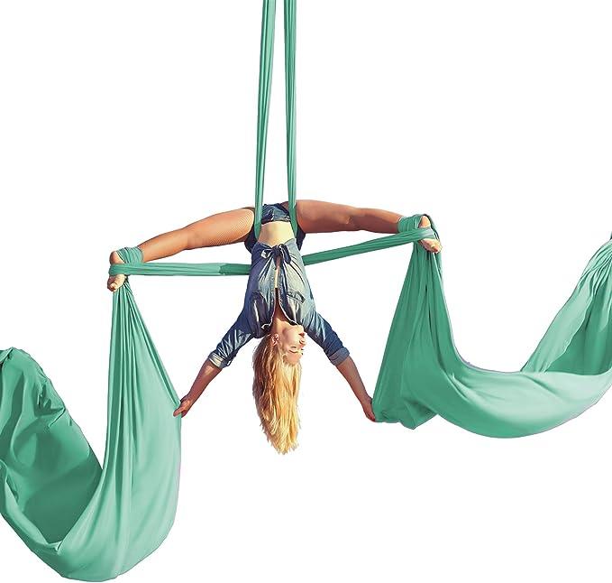 Yoga Swing Aerial Hammock Trapeze Inversion Anti-gravity 5*2.8M Kit Large Strong