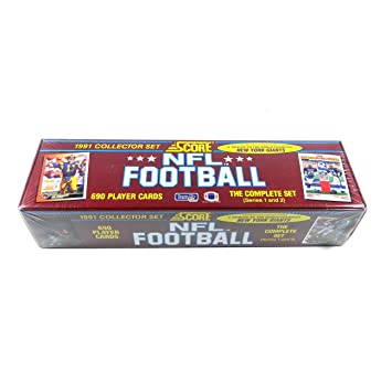 1991 Score Nfl Football Collector Set Of 690 Cards Brett