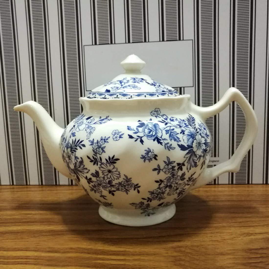 QPGGP-Teller britische blau - weißem Porzellan, westliche Gerichte, haushaltsgeräte, Schalen, Teller und tassen und untertassen, Kaffee, Tee - Sets,ich