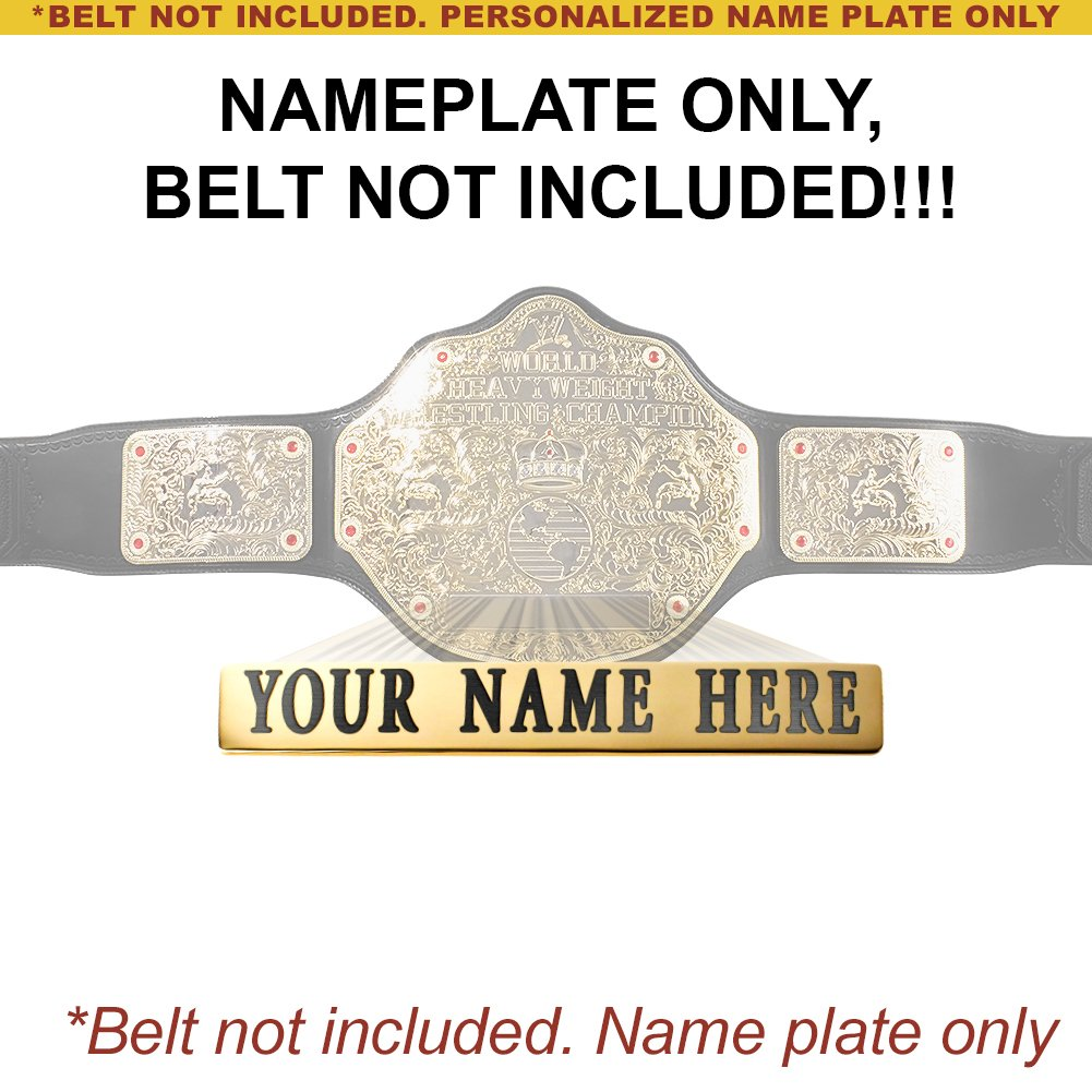 Promoción por tiempo limitado Personalizado Personalizado limitado Placa para adulto WWE World Peso Pesado CHAMPIONSHIP réplica del cinturón c9d034