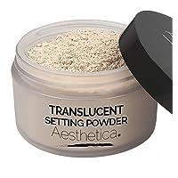 Aesthetica Translucent Setting Powder – Matte Finishing Makeup Loose Setting Powder...