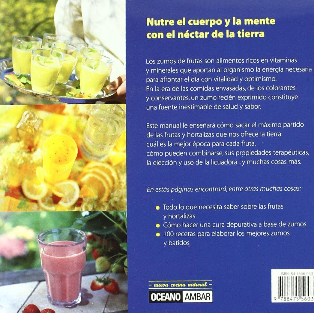 Superzumos: Deliciosos jugos de frutas y verduras para tu salud: Claudia Antist: 9788475560335: Amazon.com: Books