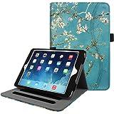 Fintie iPad Mini/Mini 2/Mini 3 Case [Corner Protection] - [Multi-Angle Viewing] Folio Smart Stand Protective Cover with Pocket, Auto Sleep/Wake for Apple iPad Mini 1/Mini 2/Mini 3, Blossom