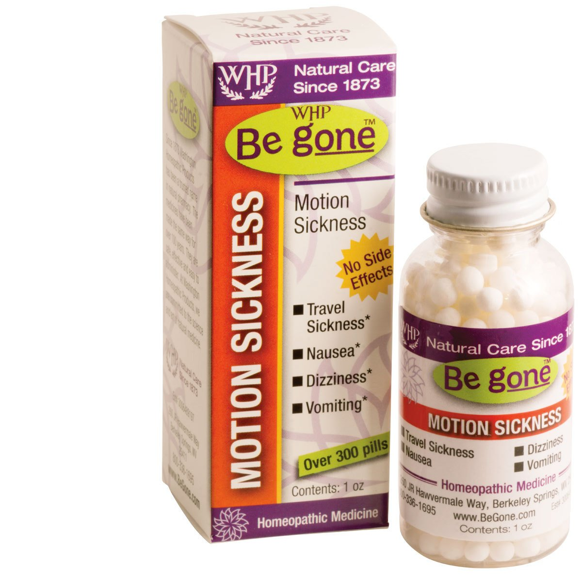 Be gone Motion Sickness