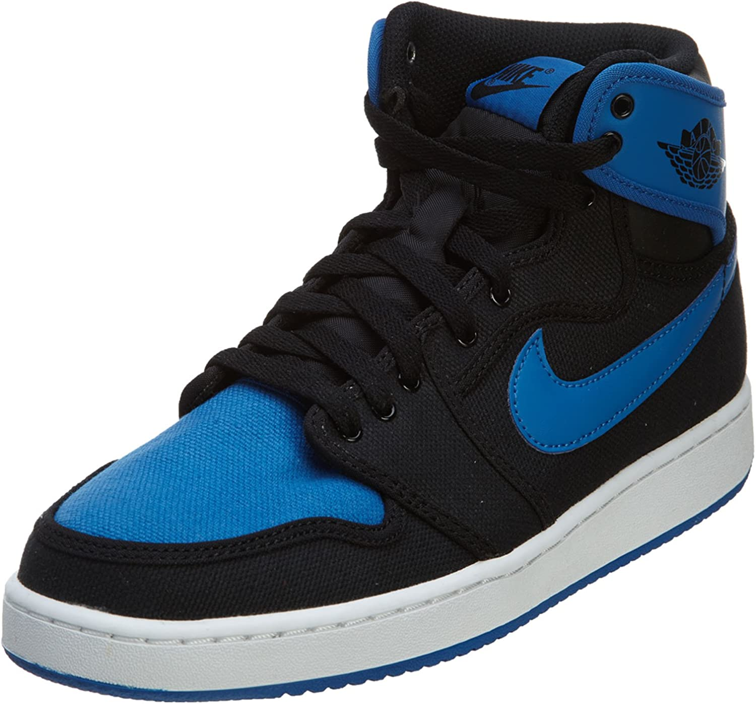 Enriquecer Reclamación libro de bolsillo  Amazon.com | Nike Air Jordan 1 KO High OG Men's Shoes Black/Sport Blue  638471-007 | Basketball