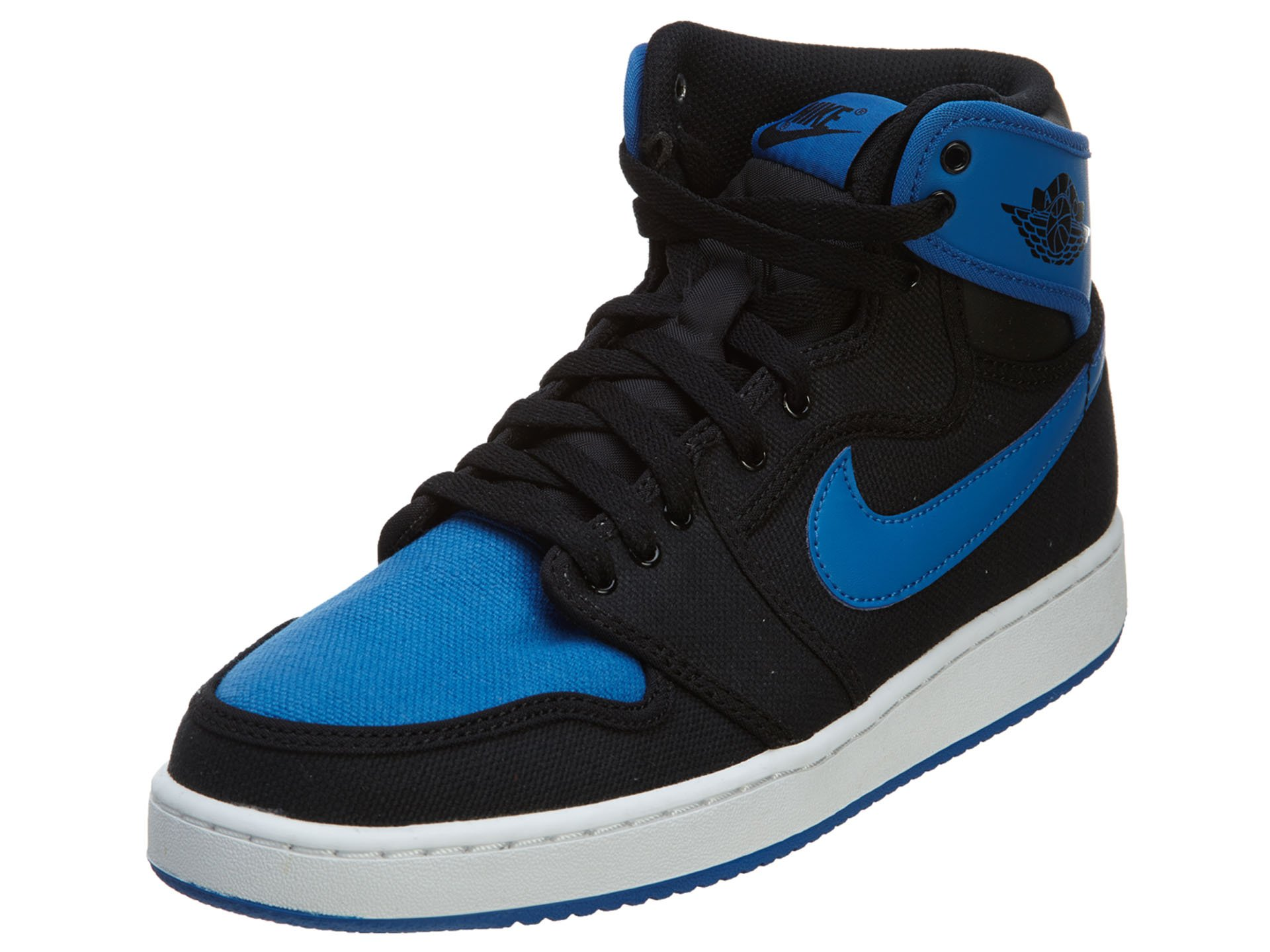 Nike Air Jordan 1 KO High OG Men's Shoes Black/Sport Blue 638471-007