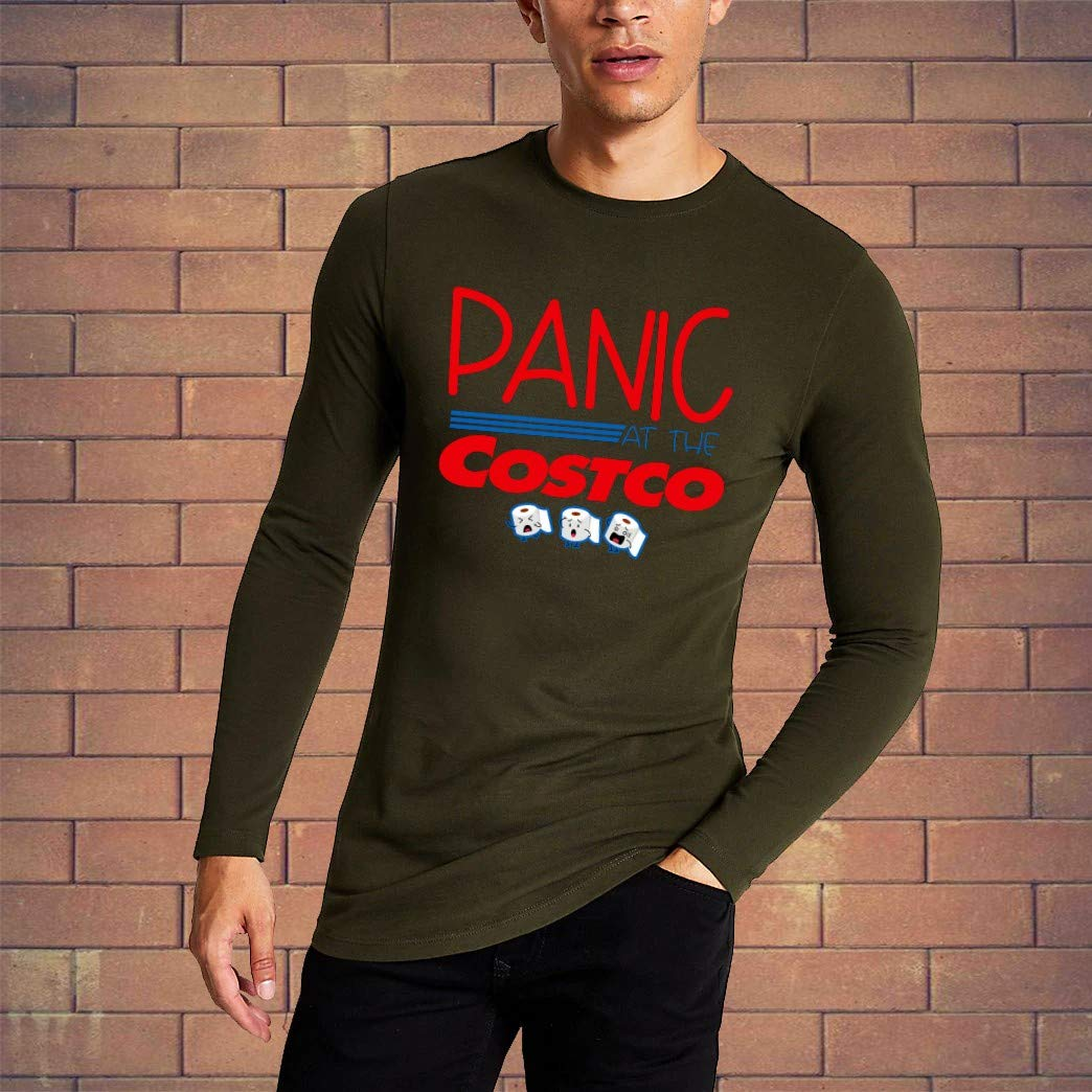 Best Panic at the Costco funny sarcastic sayings quotes novelty graphic t shirt gift for Him Her Men women T-Shirt Hoodie Sweatshirt Plus Size