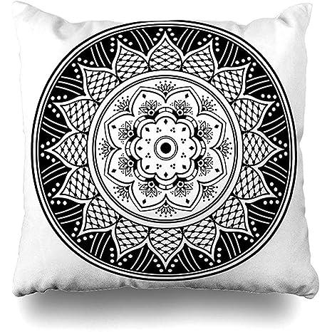 EVEI cushion covers Funda de Almohada de Henna Adulto con ...