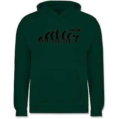 Evolution Kind - Gewichtheber Evolution - Kinder Hoodie: Shirtracer ...