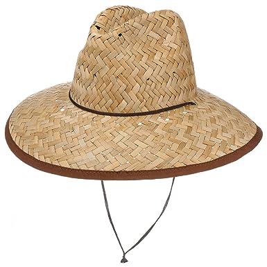 2d692d3d16ce1 Lipodo Lifeguard Straw Hat Beach Sun (One Size - Nature): Amazon.co ...