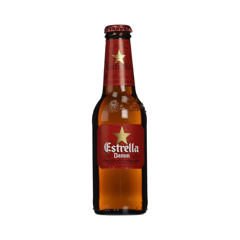 Estrella Damm Cerveza Mediterránea - Paquete de 12 x 25 cl - Total: 3000 ml: Amazon.es: Amazon Pantry