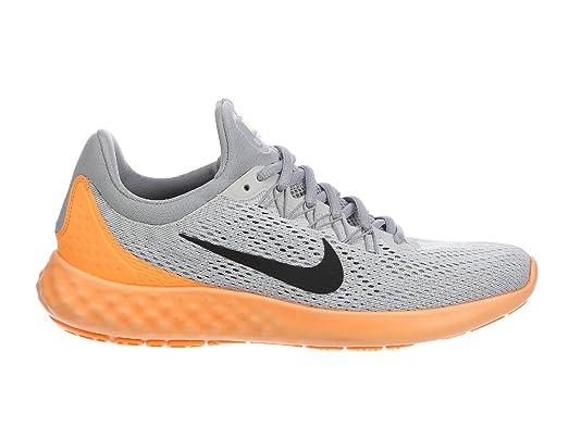 Nike Men's Lunar Skyelux Pure Platinum/Wolf Grey/Peach Cream/Black Nylon  Running