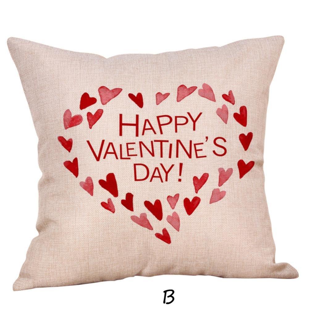 ronamick almohada San Valentín funda de cojín 45 cm X45 cm ...