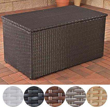 Fabulous CLP Polyrattan Auflagen-Box, Rattan-Box für Kissen & Auflagen, bis GG54