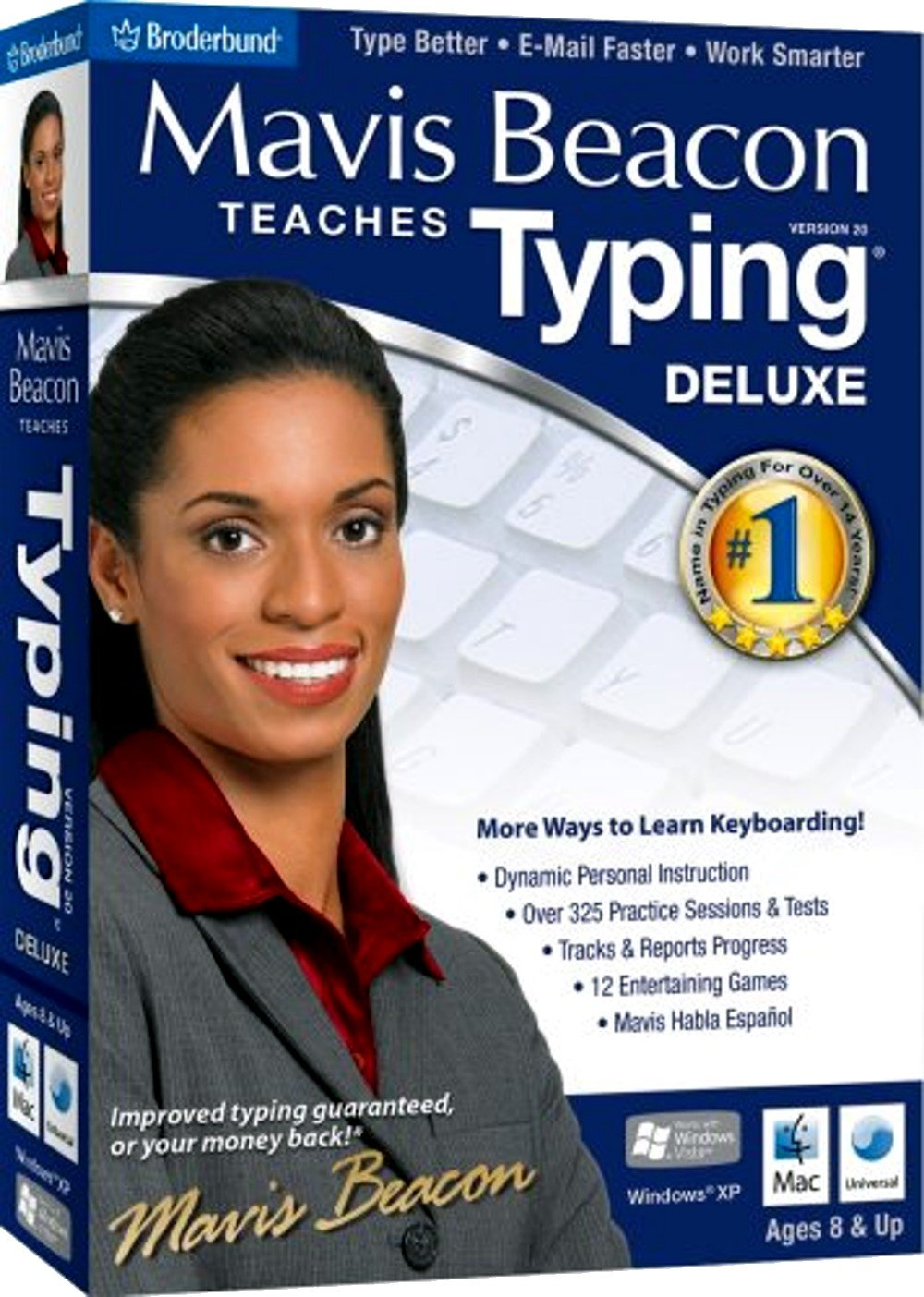 Mavis Beacon Teaches Typing Deluxe 20 - Old Version