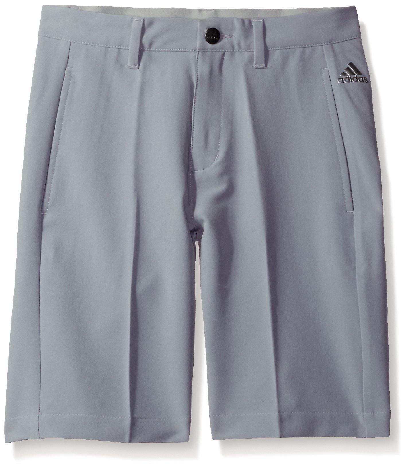 adidas Golf Boys Ultimate Shorts, Mid Grey, Medium by adidas