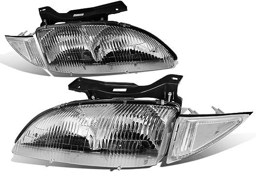 Headlight fits 2000-2002 Chevrolet Cavalier Driver Headlamp w// Housing Assembly