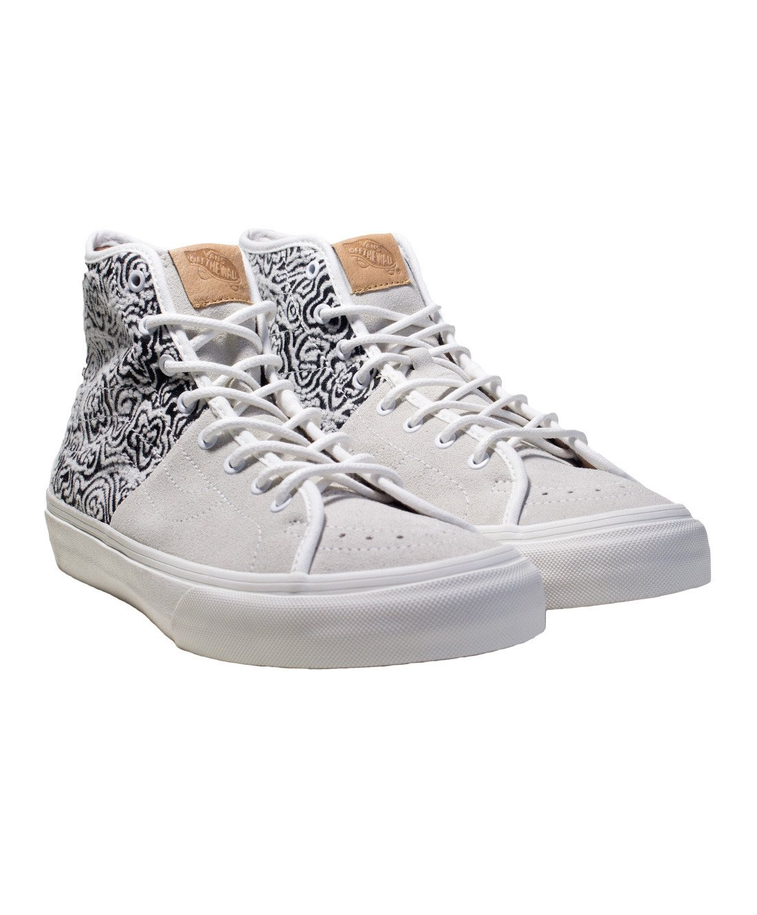 c743621b29 Galleon - Vans Sk8 Hi Decon SPT CA Italian Weave High Tops Skate Shoes Size  10