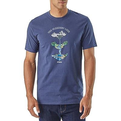 Patagonie glacier Born Responsibili T-shirt, Homme