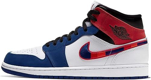 Nike Air Jordan 1 Mid Se, Zapatos de Baloncesto para Hombre ...