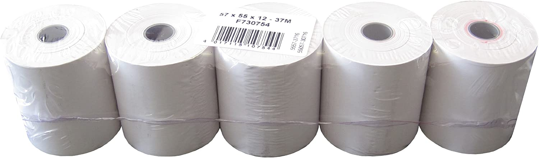 von markenbon Thermorollen BPA-frei 80m f/ür Thermopapier Thermorollen 80x80 mm 30 Rollen