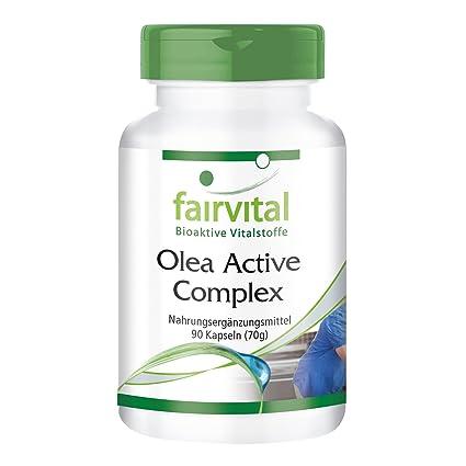 Olea activ Complex - para 45 días - VEGANO - 90 Cápsulas - combinación de Vitaminas