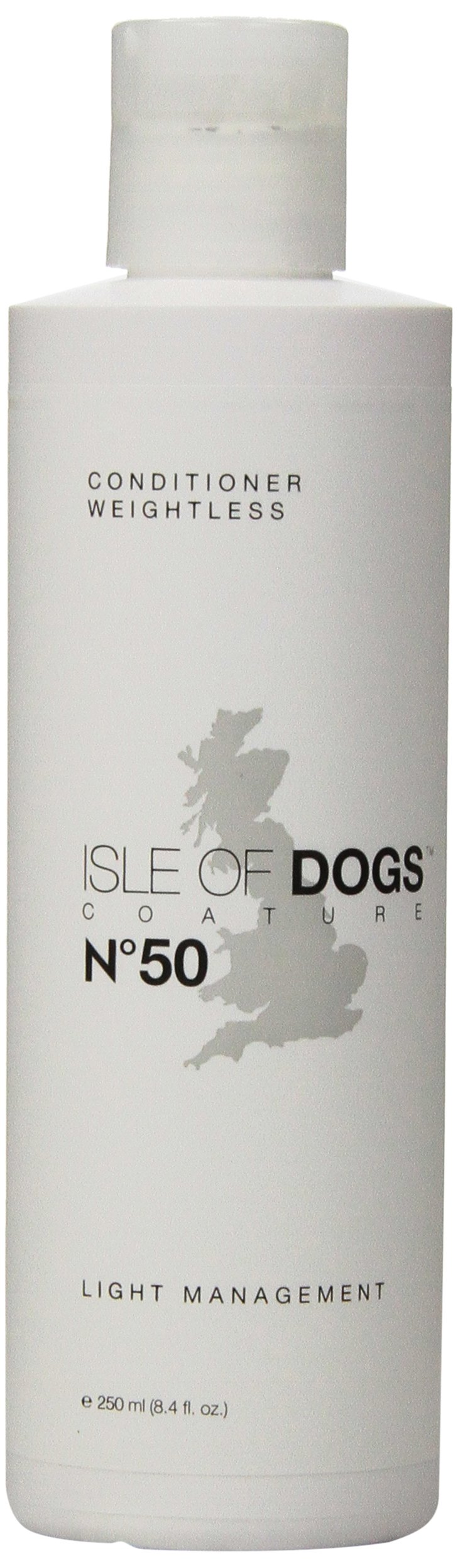 Isle of Dogs Coature No. 50 Light Management Dog Conditioner for Dry Hair, 8.4 oz.