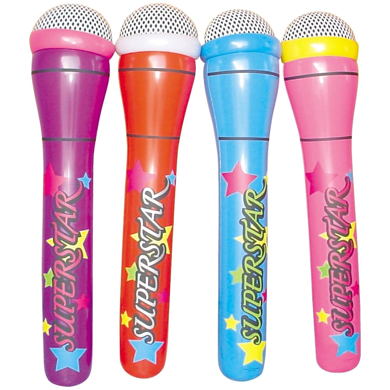 4 mega Micrófono hinchable 1 m de largo Superstar Micro F. Músicos ...