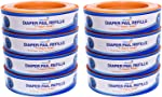 ChoiceRefill Compatible with Diaper Genie Pails, 8-Pack, 2160 count