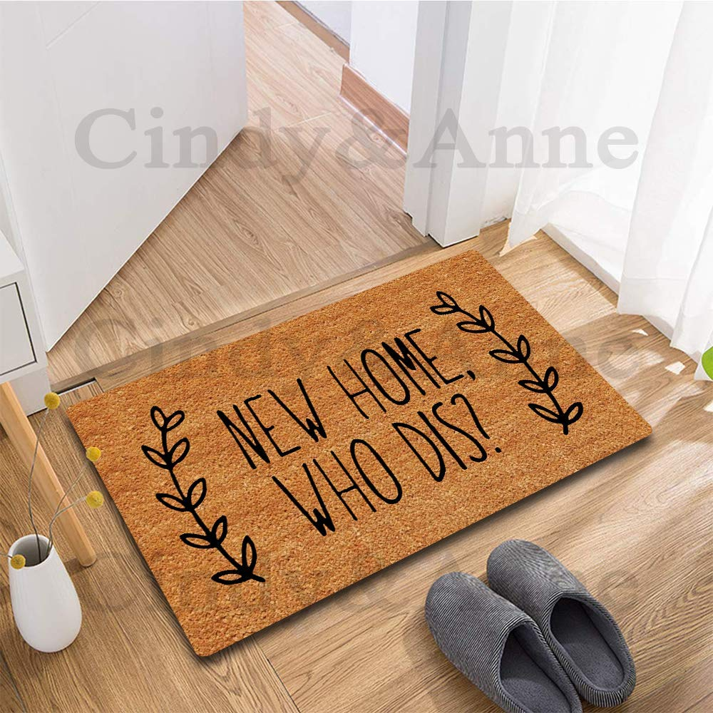 Personality Doormat Custom Home Living Decor Housewares Rugs and Mats State Indoor Gift Ideas 23.6 by 15.7 Inch Tdou New Home Who Dis