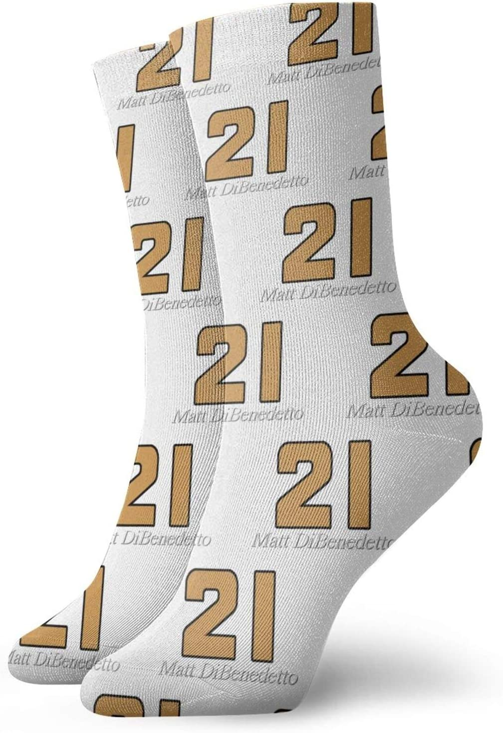 Gerneric Matt Dibenedetto Socks Moisture Wicking Heavy Cushion Crew Socks for Men and Women