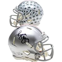 $119 » Ryan Day Ohio State Buckeyes Autographed Riddell Speed Mini Helmet - Fanatics Authentic Certified - Autographed College Mini Helmets
