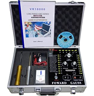 Long Range Underground Gold Gem Metal Detector VR10000 Detecting Range 100-3000m Detecting Depth 5