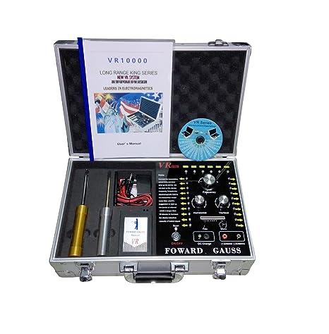 Largo alcance detector de metales subterráneo Gold Gem vr10000 detección gama 100 – 3000 m detectar