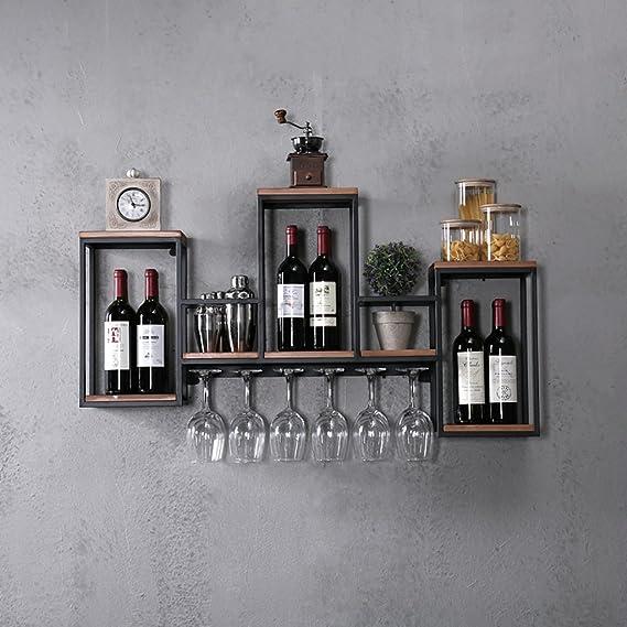 wine racks wall mounted wrought iron