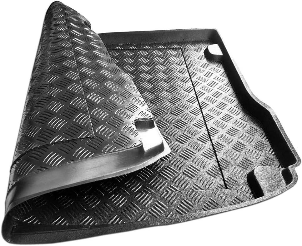 Rezaw Couvre-Coffre en PVC Compatible avec Mitsubishi Lancer Sportback Cadeau + nettoyant en Plastique 2009-2016