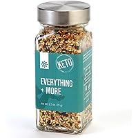 The Spice Lab Everything Bagel Seasoning Blend – 2oz. French Jar - Premium Gourmet PALEO and KETO Approved Spice - The Perfect Everything Seasoning -Blend of Sesame Seeds, Garlic & Onions