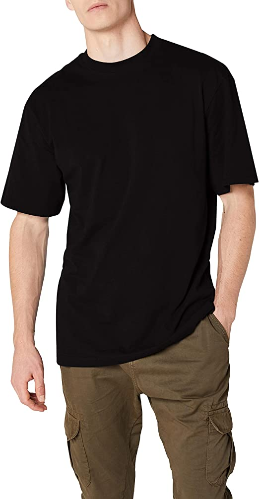 TALLA M. Urban Classics Tall Tee - Camiseta para Hombre