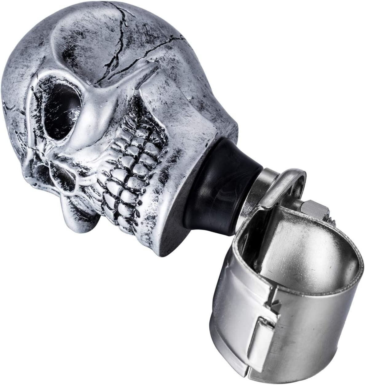 Arenbel Skull Steering Wheel Knob Turning Aid Suicide Spinner ...
