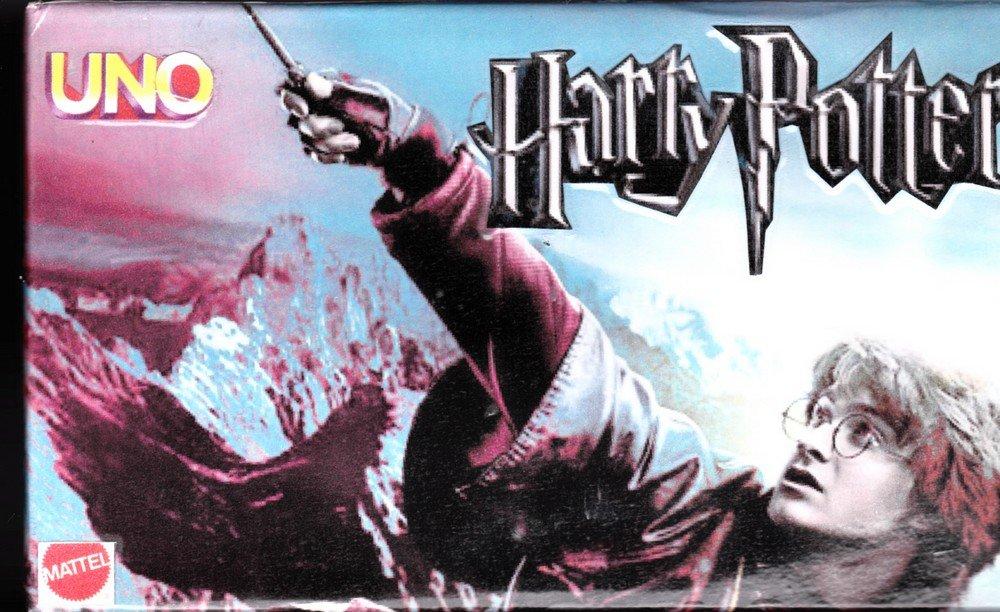2000 MATTEL Harry Potter UNO Card Game by Mattel