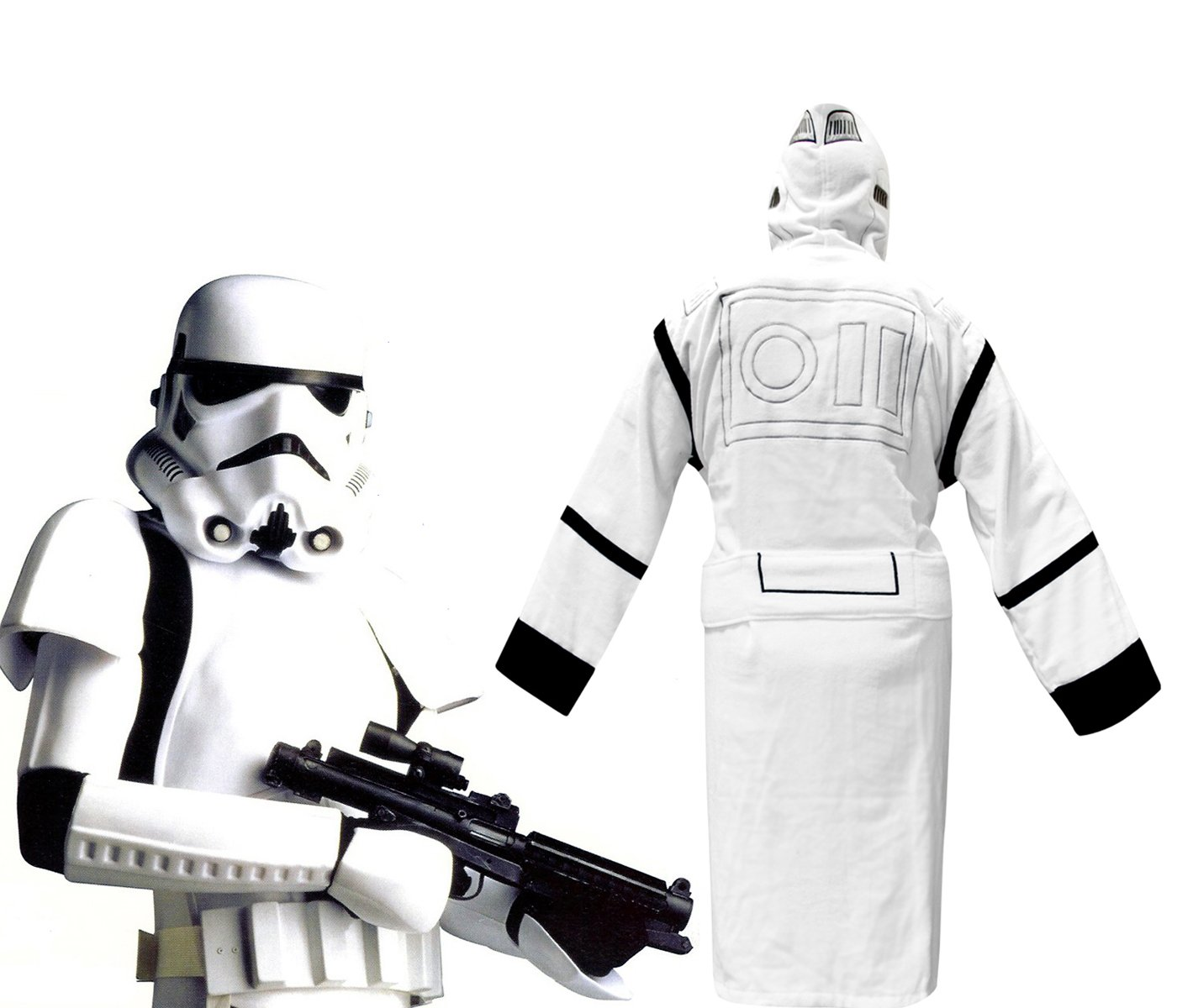 Star Wars Dressing Gowns For Men - Stormtrooper: Amazon.co.uk: Toys ...
