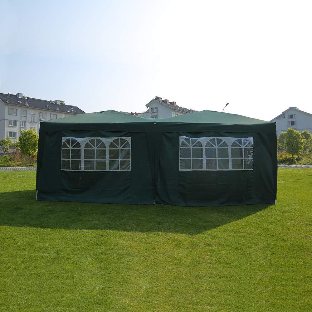 Sproutor - Carpa Plegable Resistente al Agua, cenador de marquesina, Fiesta de jardín, toldo de Tienda de campaña para Bodas al Aire Libre 2 x 2, 2, 5 x 2, 5, 3