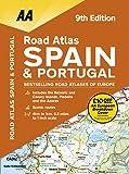 Road Atlas Spain & Portugal (AA Atlas) (Aa Road Atlas)