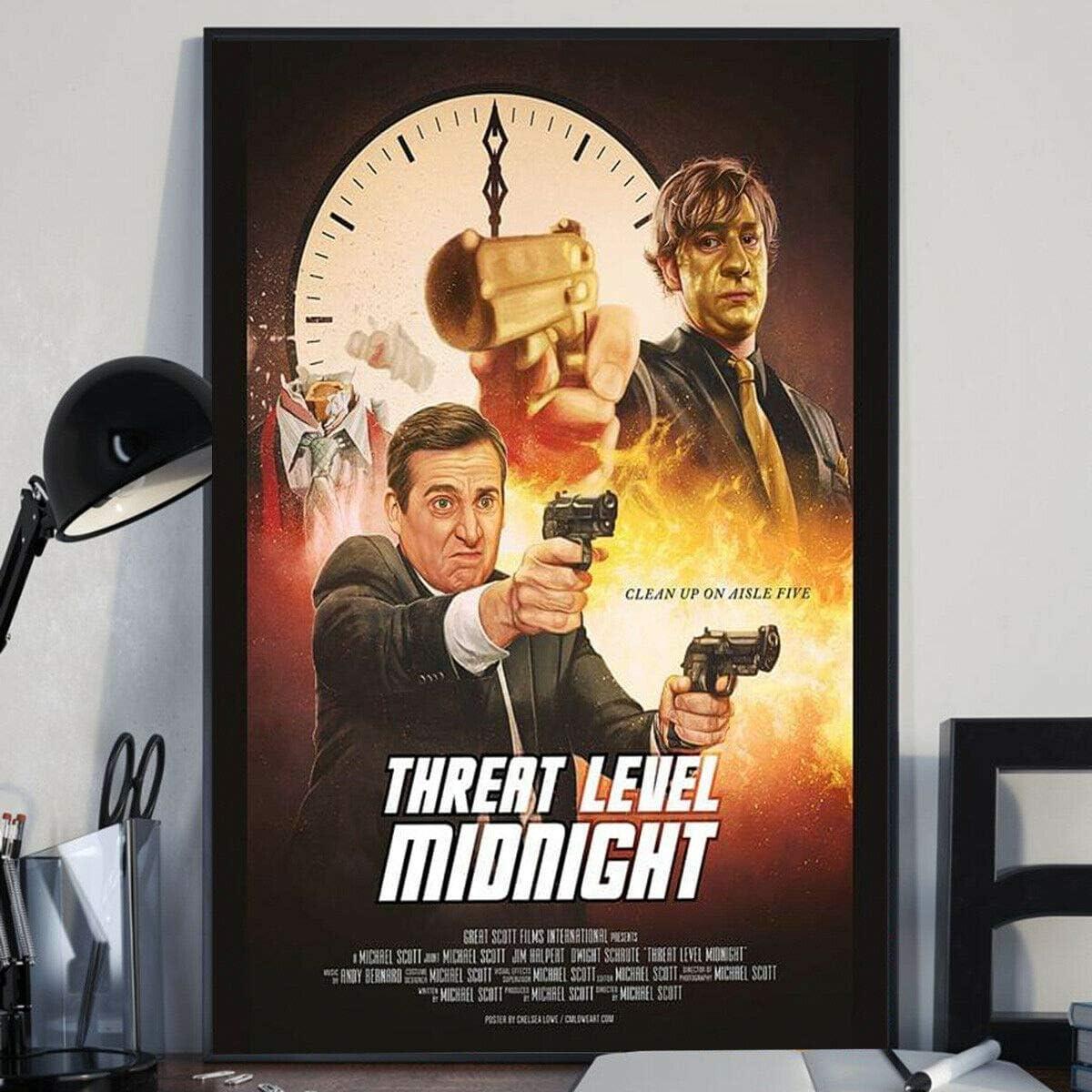 Threat Level Midnight Poster
