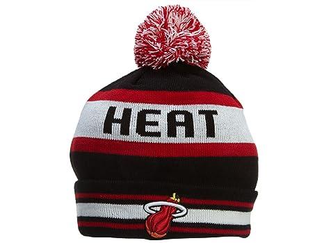 0e210702fcf ... low price new era new era the jake 3 miami heat knit beanie hat black  ff340