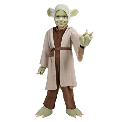 Princess Paradise Child Star Wars Yoda Jedi Master Costume: Clothing