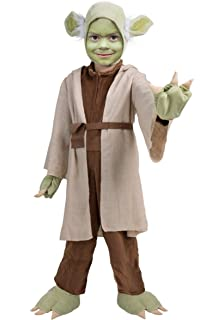 Amazon.com: Star Wars Childs Yoda Costume, Small: Toys & Games
